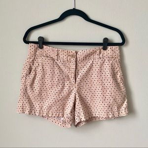 LOFT 🌼 Linen Blend Floral Print Shorts